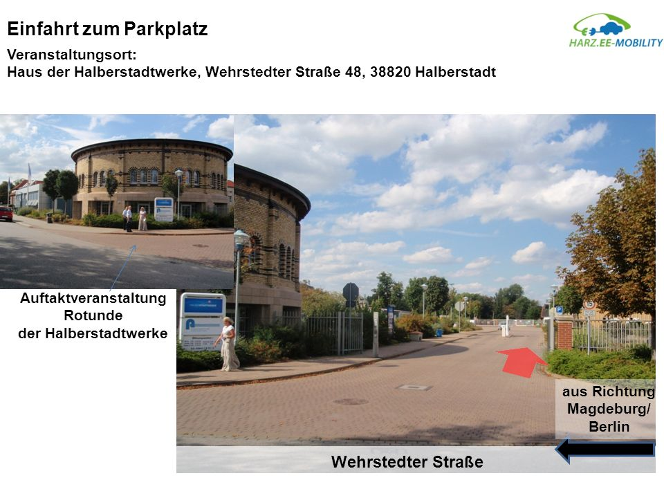 Auftaktveranstaltung Rotunde der Halberstadtwerke