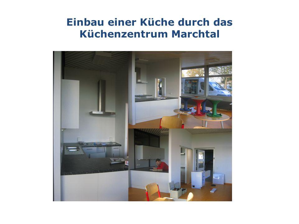 Einbau einer Küche durch das Küchenzentrum Marchtal