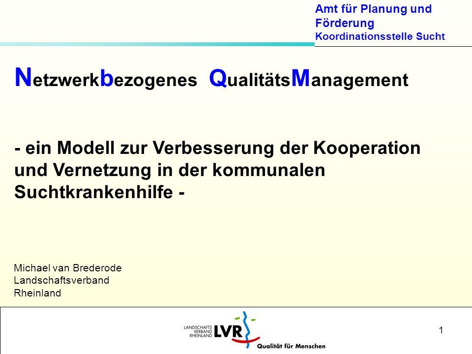 Netzwerkbezogenes QualitätsManagement