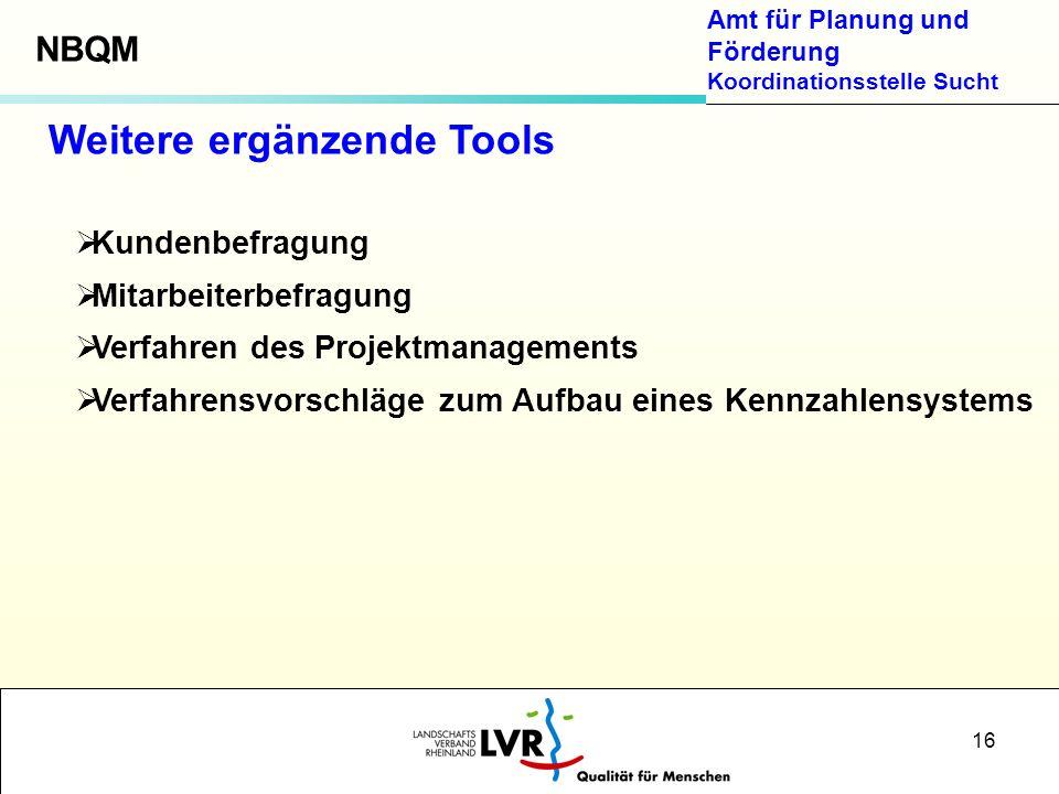 Weitere ergänzende Tools