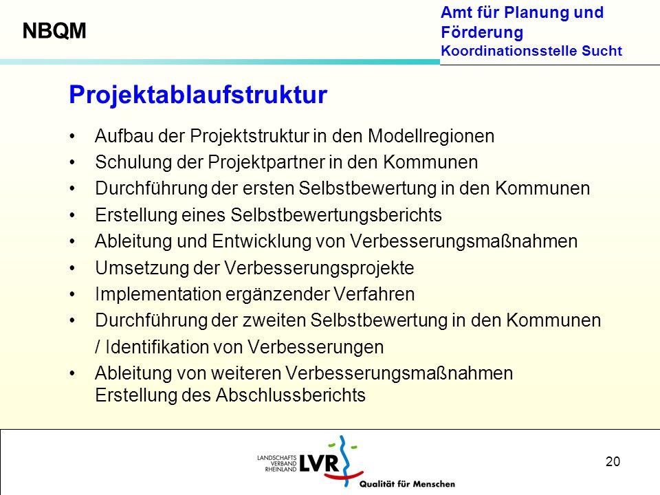Projektablaufstruktur