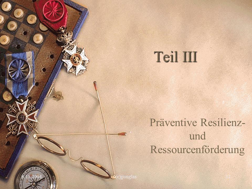 Präventive Resilienz- und Ressourcenförderung