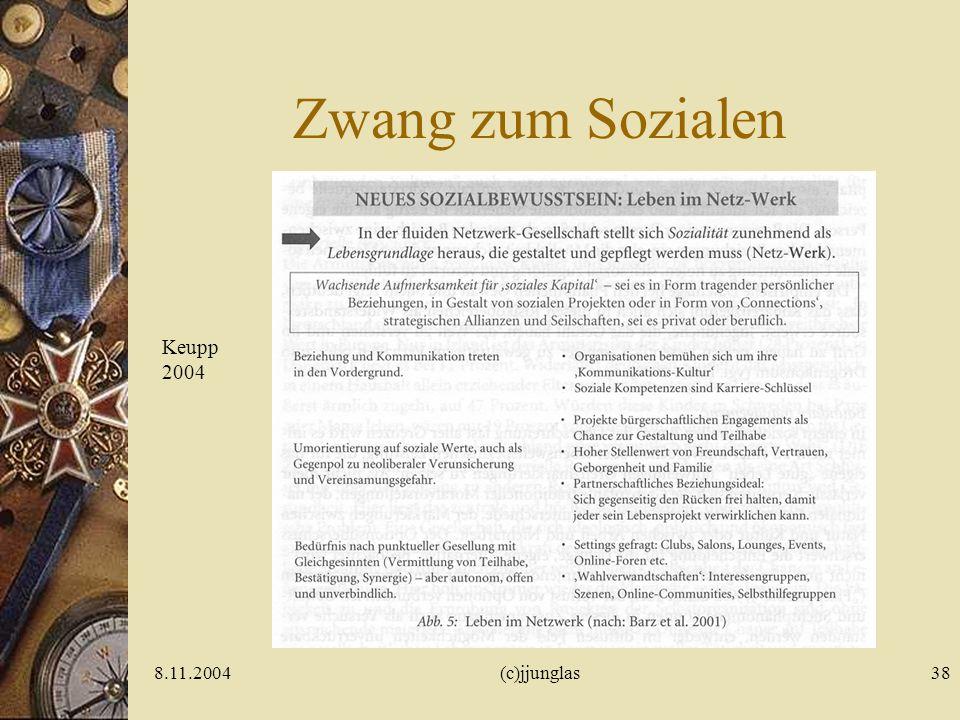 Zwang zum Sozialen Keupp 2004 8.11.2004 (c)jjunglas