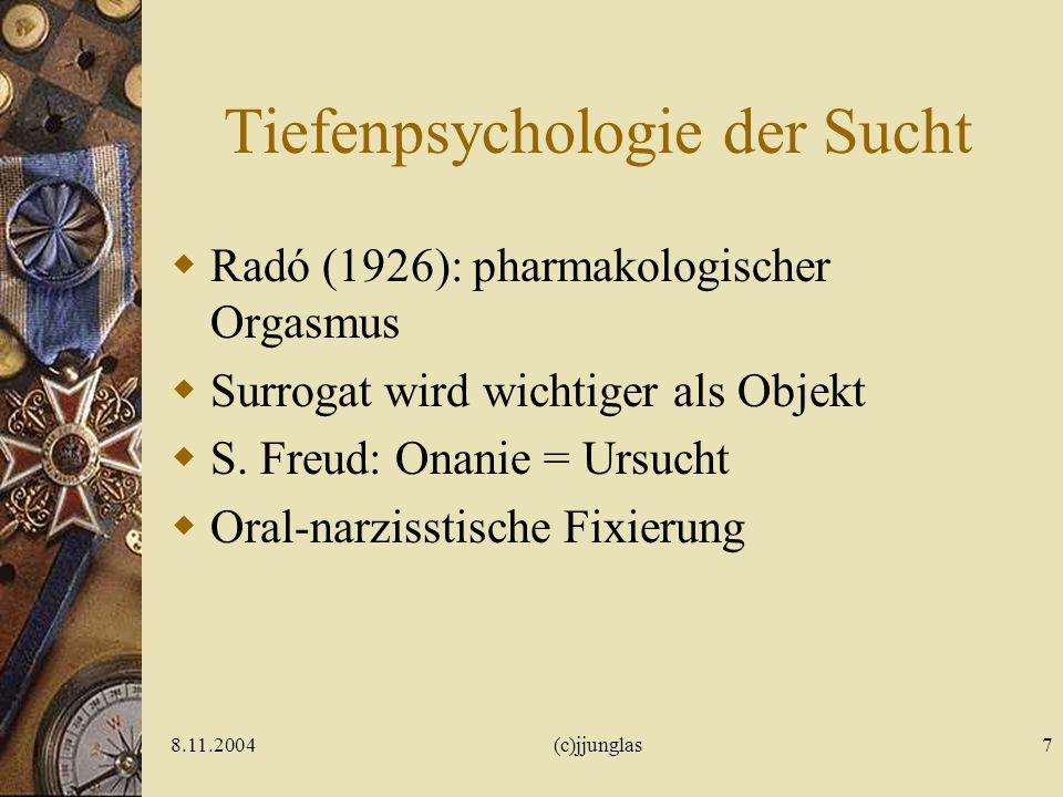 Tiefenpsychologie der Sucht