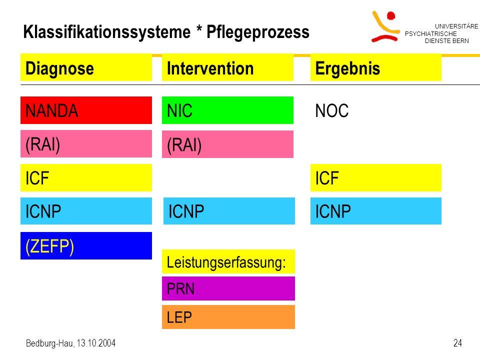 Klassifikationssysteme * Pflegeprozess