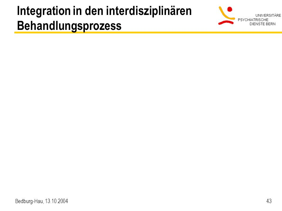 Integration in den interdisziplinären Behandlungsprozess