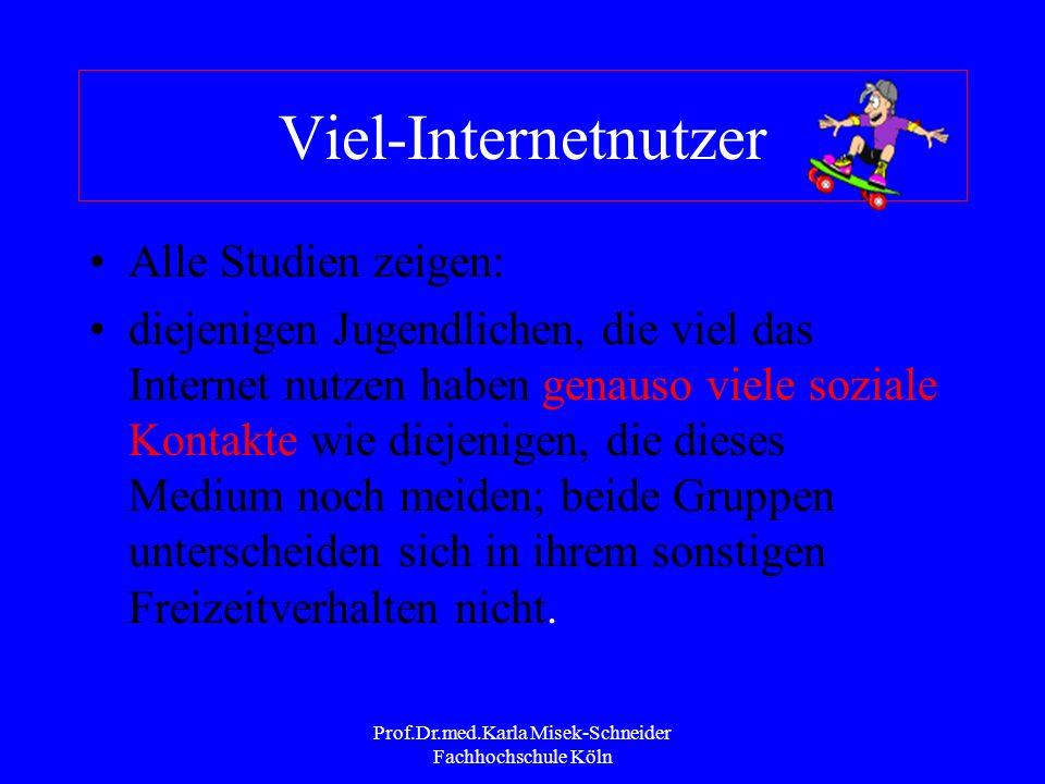 Prof.Dr.med.Karla Misek-Schneider Fachhochschule Köln