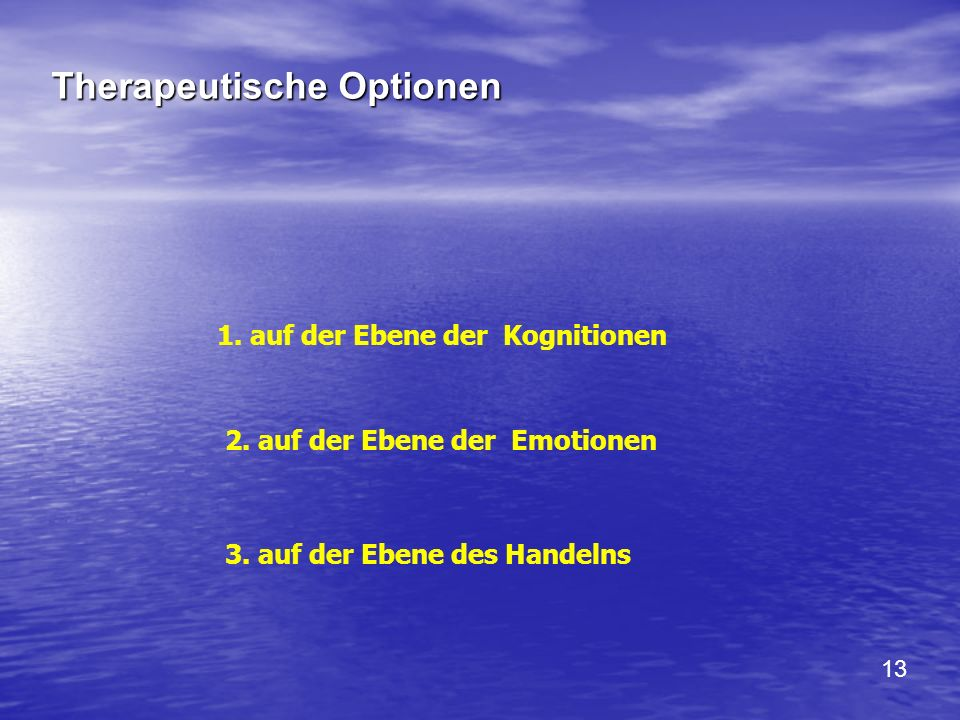 Therapeutische Optionen