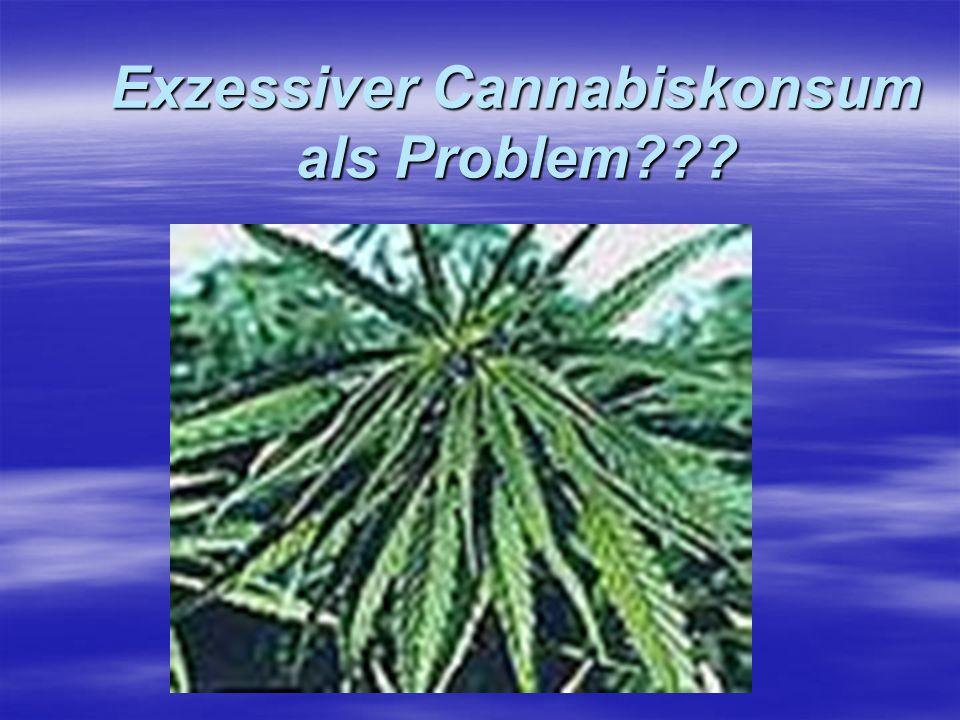 Exzessiver Cannabiskonsum als Problem