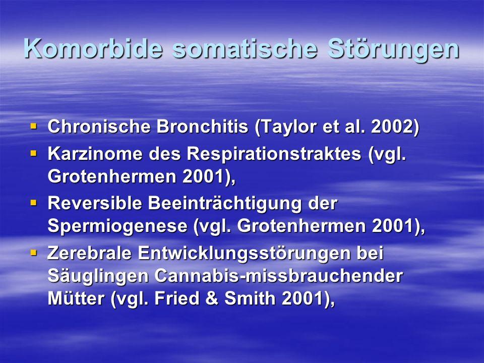 Komorbide somatische Störungen