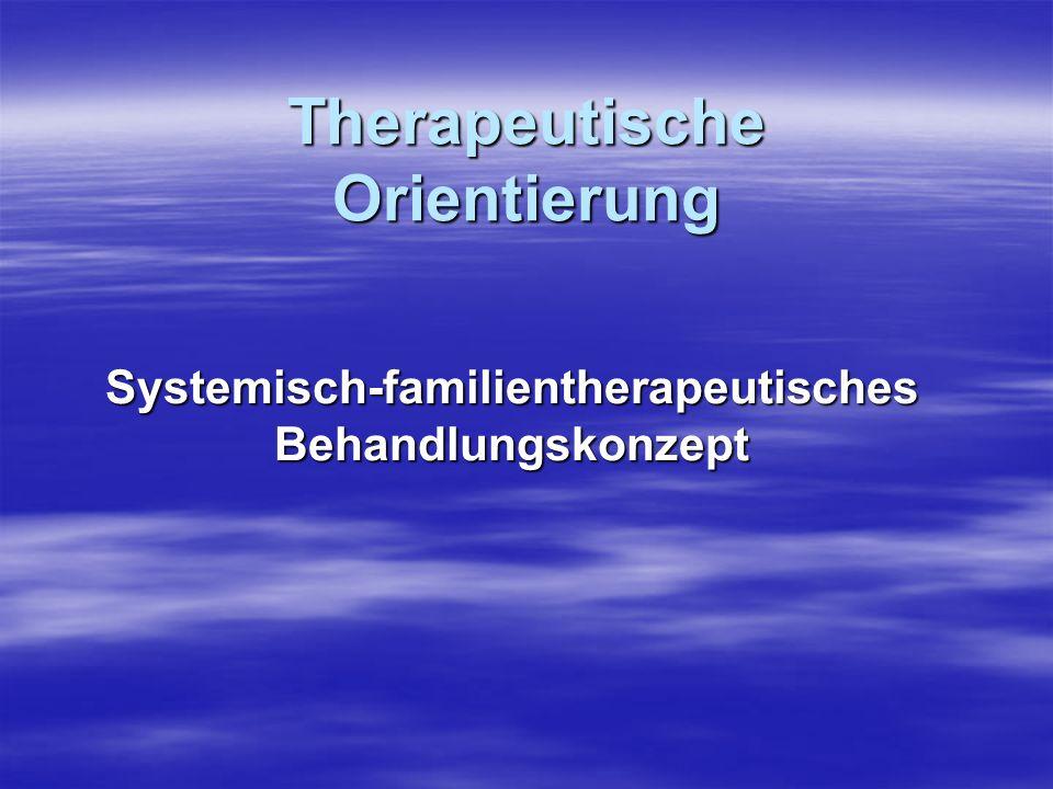 Therapeutische Orientierung