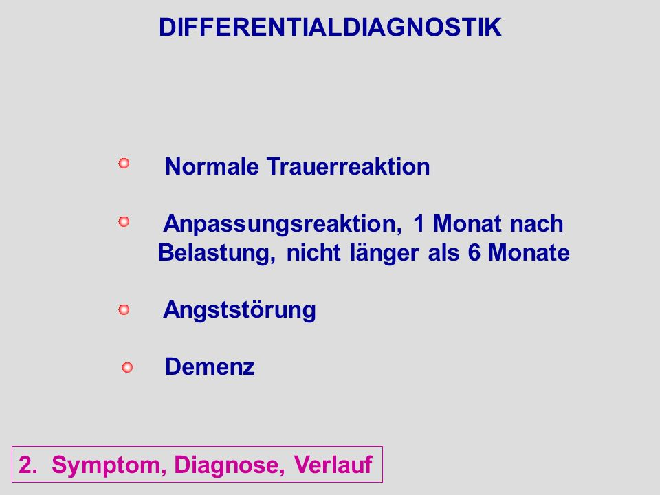 DIFFERENTIALDIAGNOSTIK
