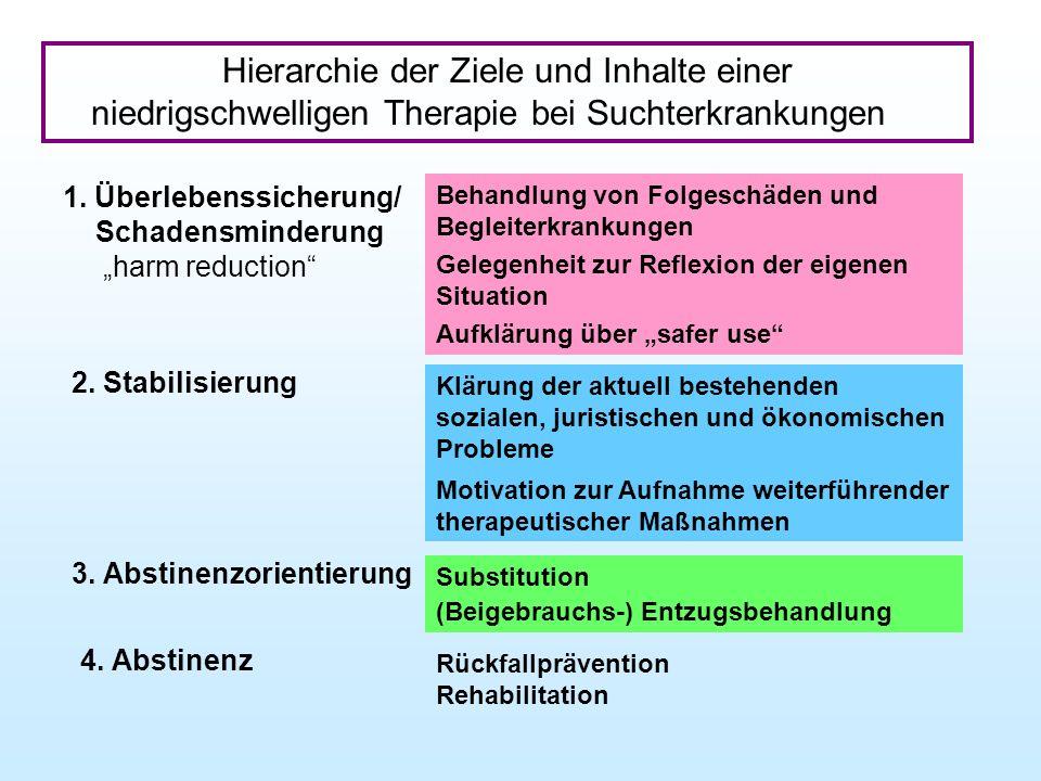 Hierarchie der Ziele und Inhalte einer