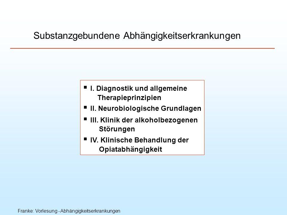 Substanzgebundene Abhängigkeitserkrankungen