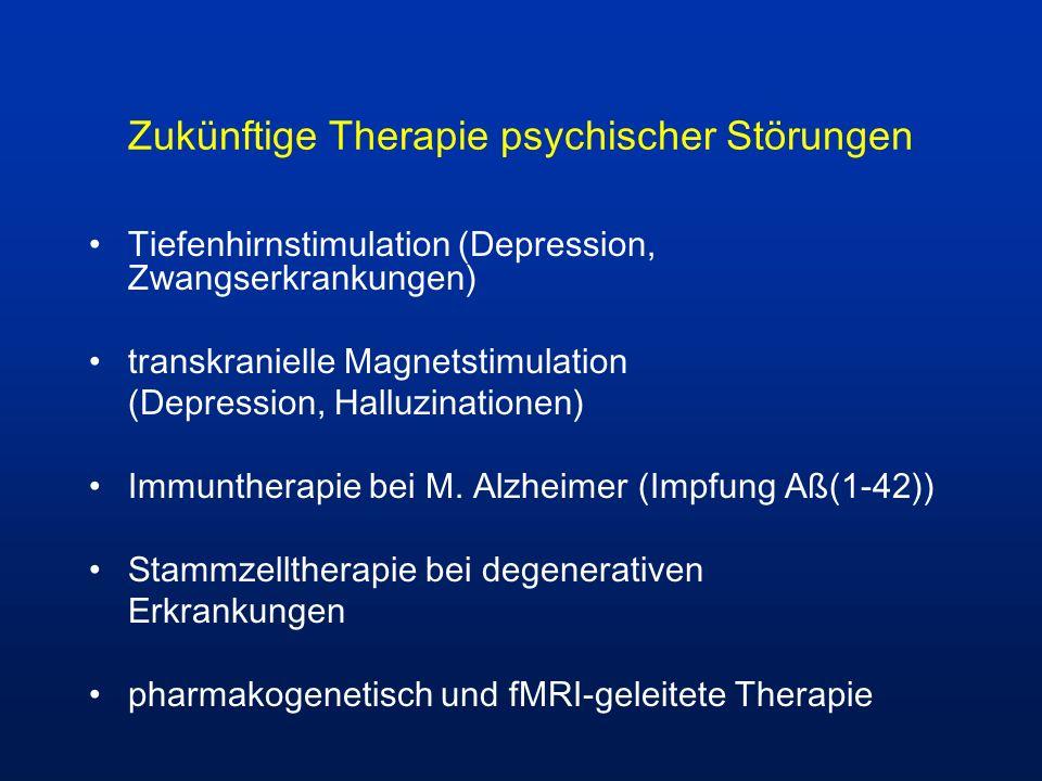 Zukünftige Therapie psychischer Störungen