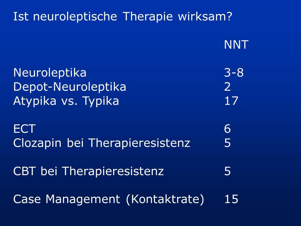 Ist neuroleptische Therapie wirksam