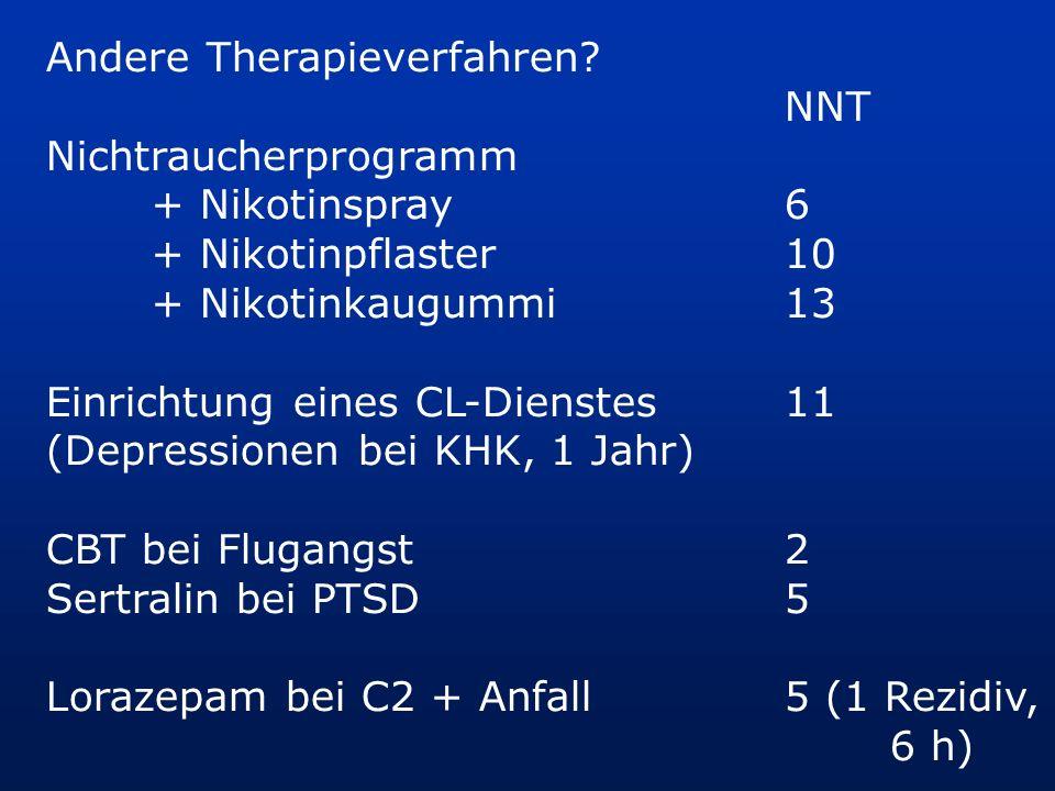 Andere Therapieverfahren