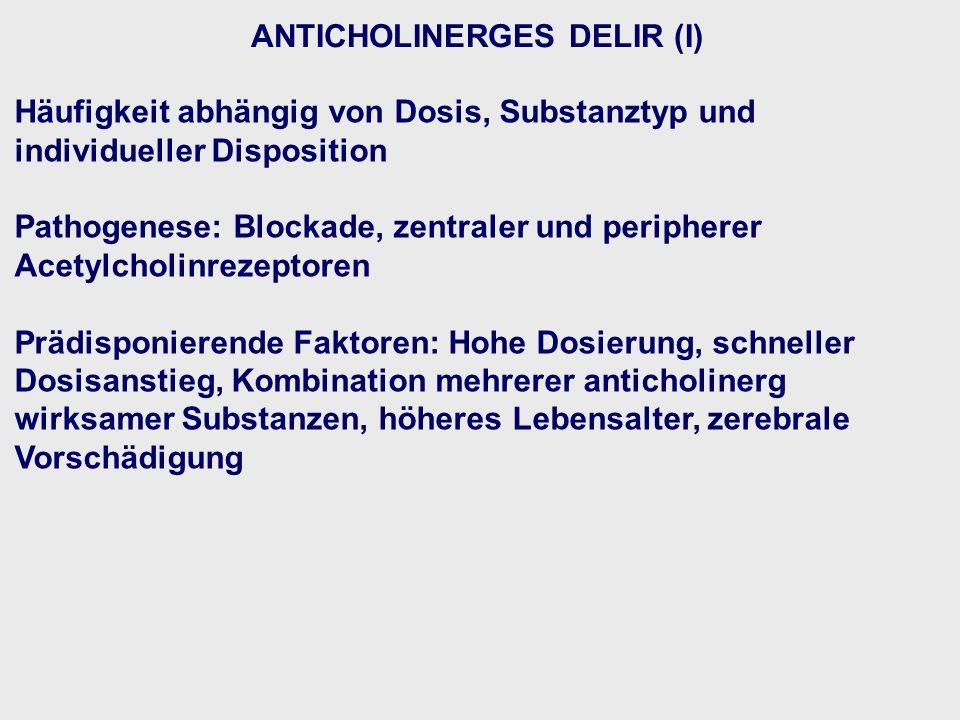 ANTICHOLINERGES DELIR (I)
