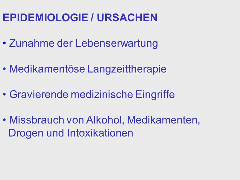 EPIDEMIOLOGIE / URSACHEN