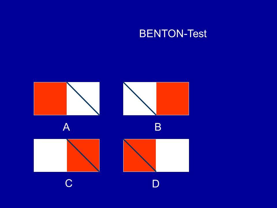 BENTON-Test A B C D
