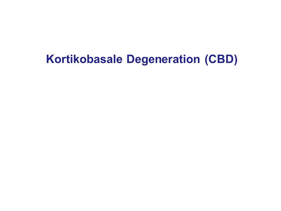 Kortikobasale Degeneration (CBD)