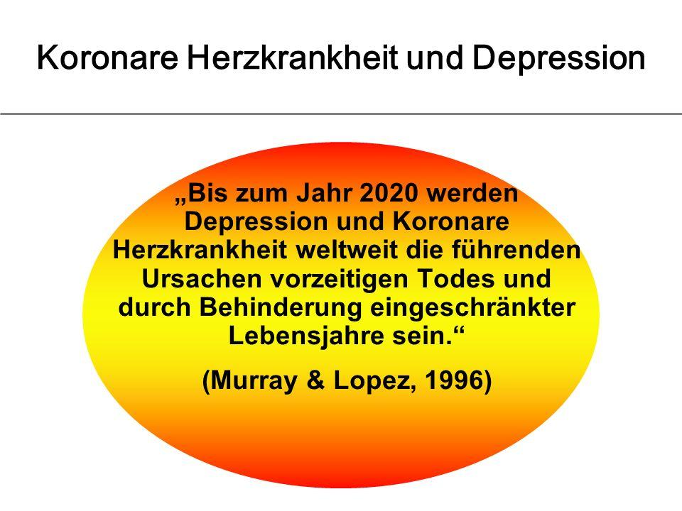 Koronare Herzkrankheit und Depression