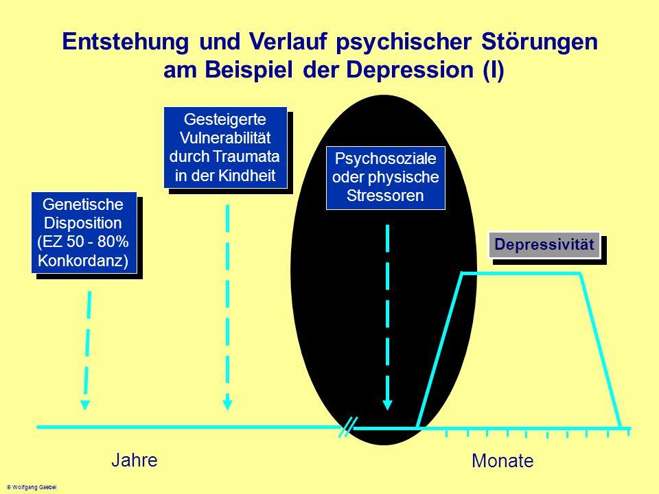 Entstehung und Verlauf psychischer Störungen