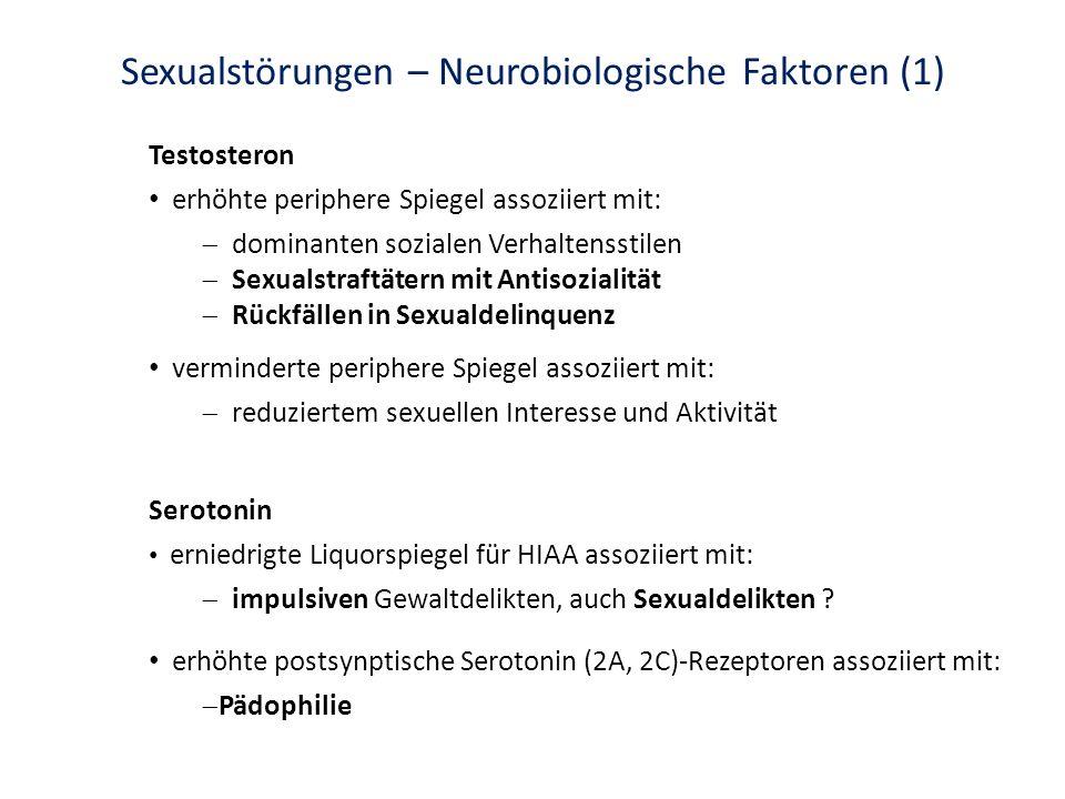 Sexualstörungen – Neurobiologische Faktoren (1)