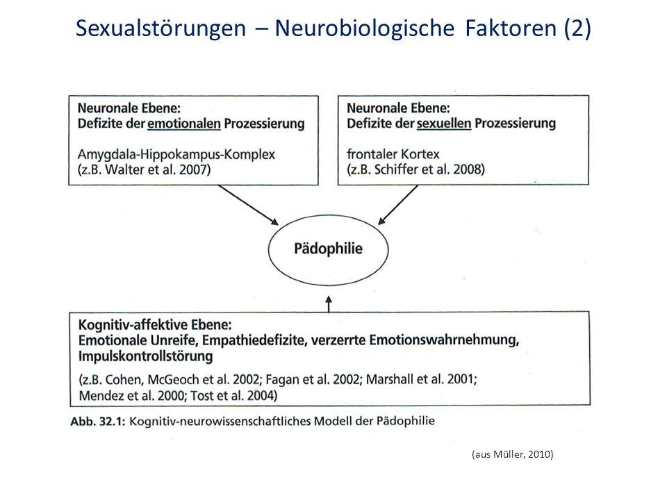 Sexualstörungen – Neurobiologische Faktoren (2)