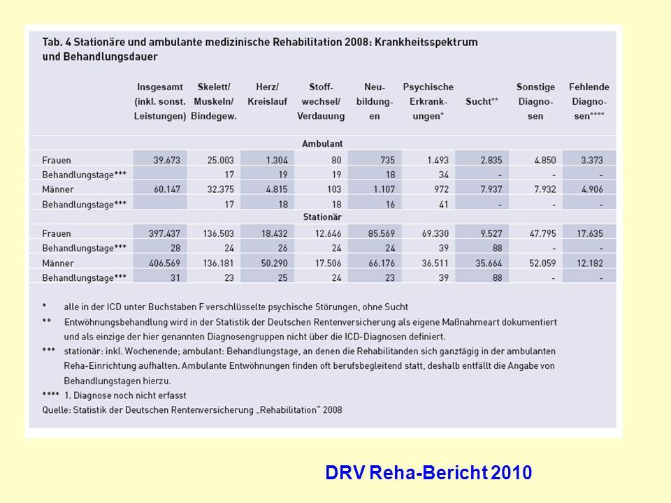 DRV Reha-Bericht 2010