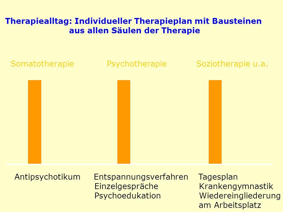 Therapiealltag: Individueller Therapieplan mit Bausteinen