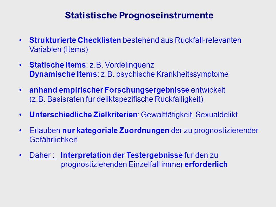 Statistische Prognoseinstrumente