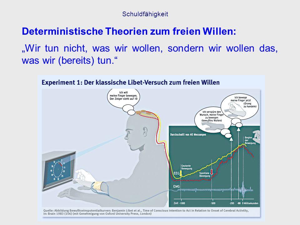 Deterministische Theorien zum freien Willen: