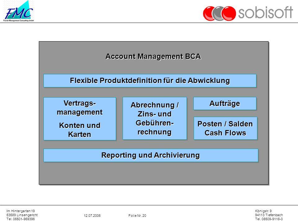 Account Management BCA