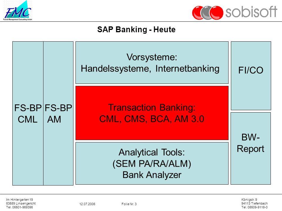Handelssysteme, Internetbanking