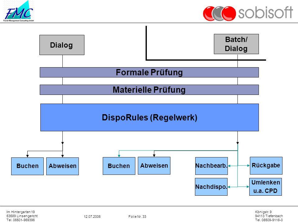 DispoRules (Regelwerk)