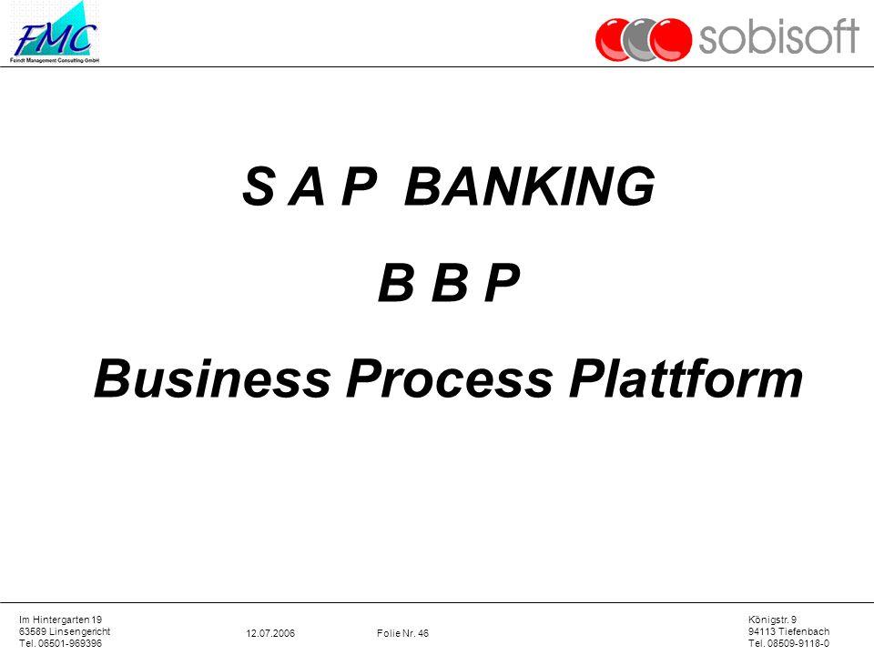 Business Process Plattform
