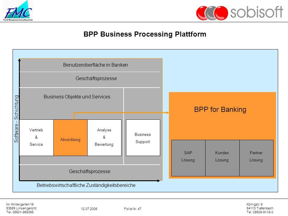 BPP Business Processing Plattform