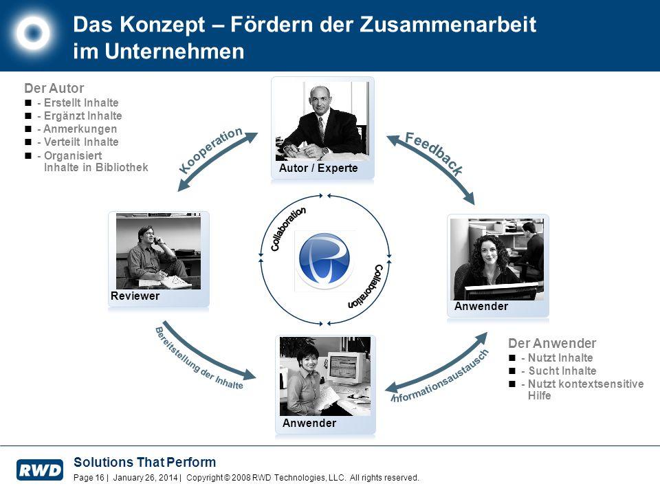 Das Konzept – Fördern der Zusammenarbeit im Unternehmen
