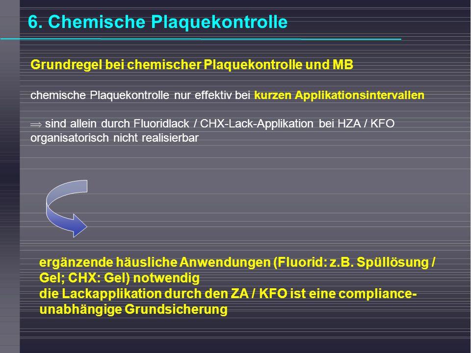 6. Chemische Plaquekontrolle