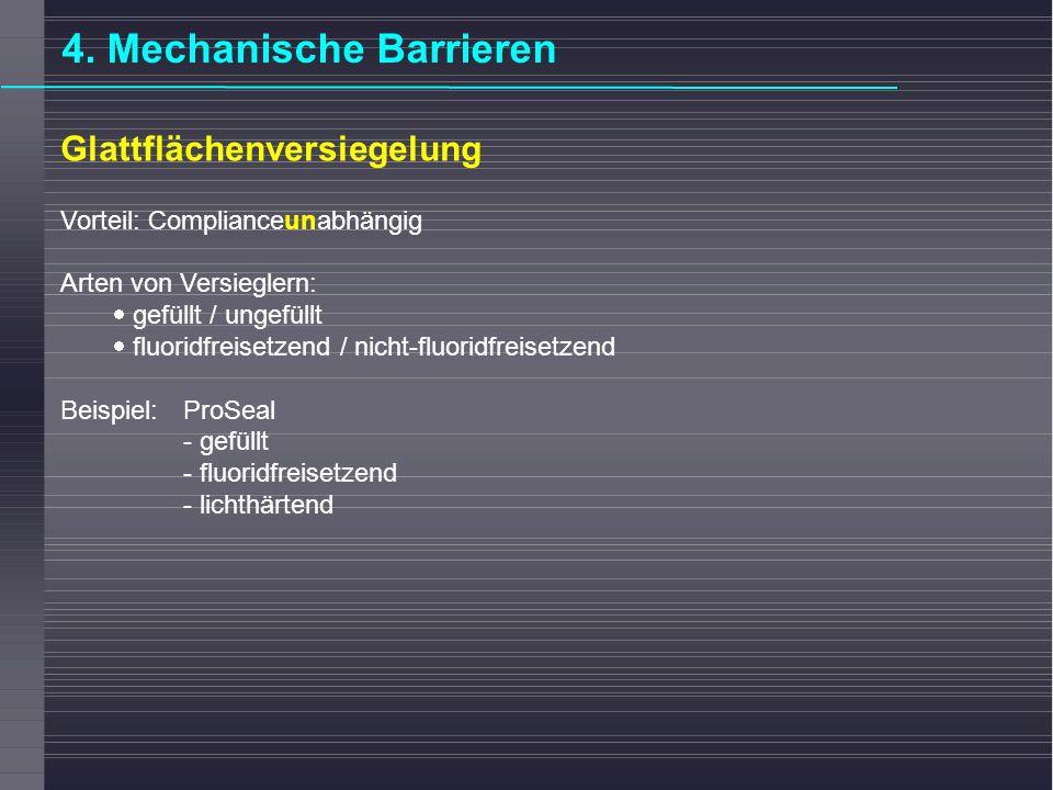 4. Mechanische Barrieren