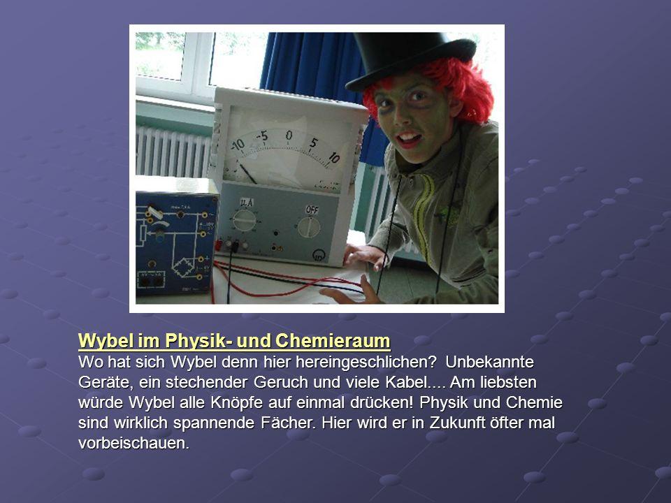 Wybel im Physik- und Chemieraum