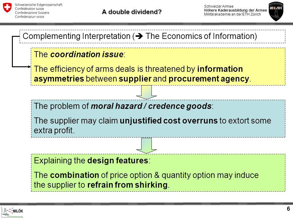 Complementing Interpretation ( The Economics of Information)