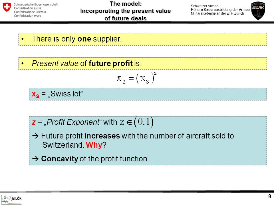 The model: Incorporating the present value of future deals
