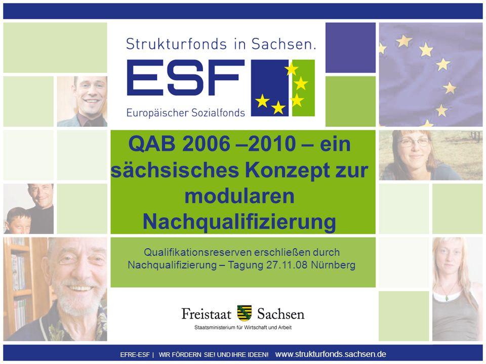 QAB 2006 –2010 – ein sächsisches Konzept zur modularen Nachqualifizierung