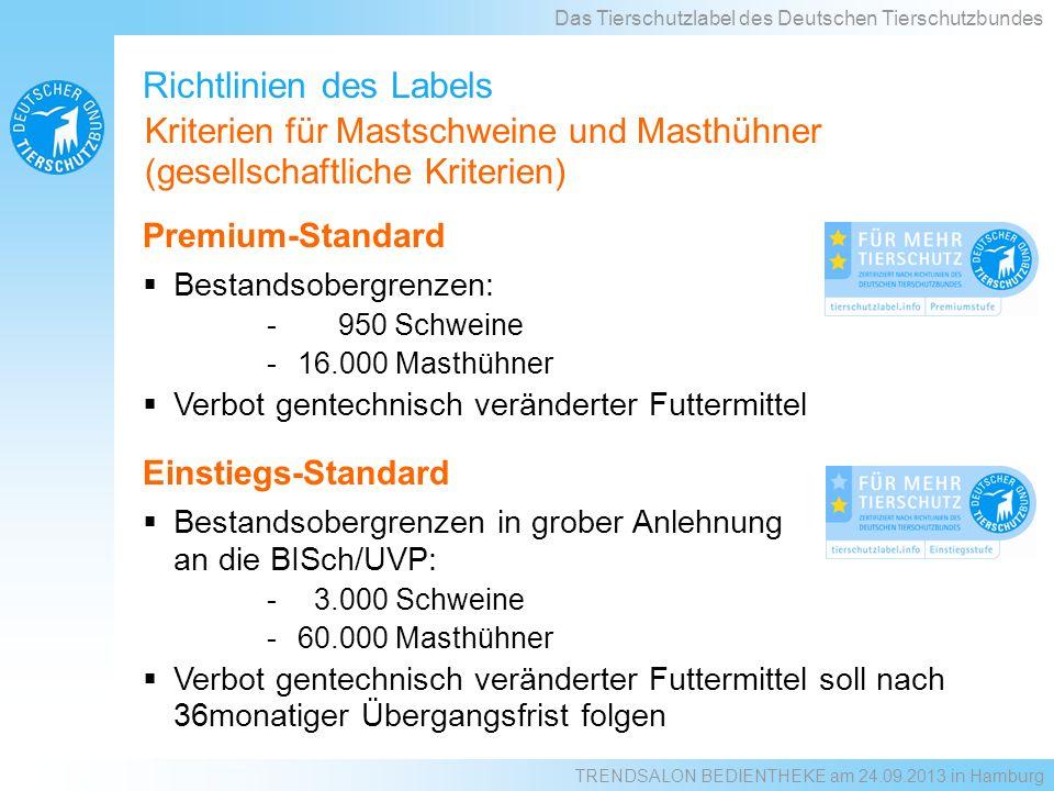 Richtlinien des Labels