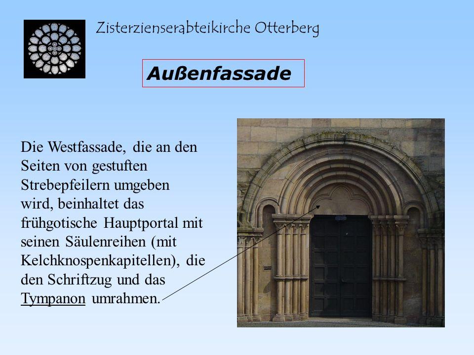 Außenfassade Zisterzienserabteikirche Otterberg