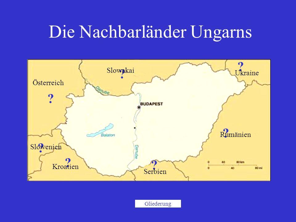 Die Nachbarländer Ungarns