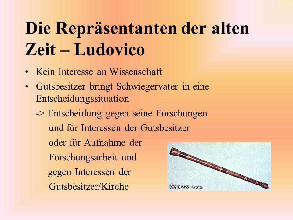 Die Repräsentanten der alten Zeit – Ludovico