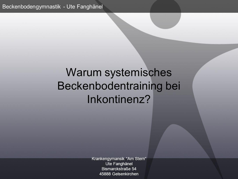 Warum systemisches Beckenbodentraining bei Inkontinenz